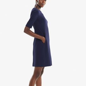 The Emily Dress- deep indigo